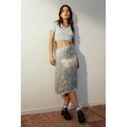 Urban Outfitters Floral Jacquard Satin Skirt found on Bargain Bro India from Urban Outfitters (US) for $59.00