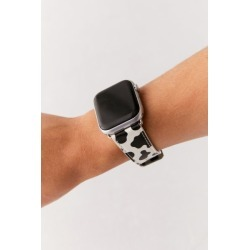 Wildflower Moo Moo Apple Watch Strap - Black S at Urban Outfitters