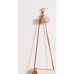 Harley Wook Wall Hook - Brown at Urban Outfitters