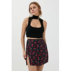 Motel Shenka Satin Mini Skirt found on MODAPINS from Urban Outfitters (US) for USD $44.00