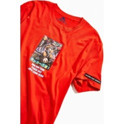Quatre Cent Quinze UO Exclusive Kaiju Tee - Red S at Urban Outfitters