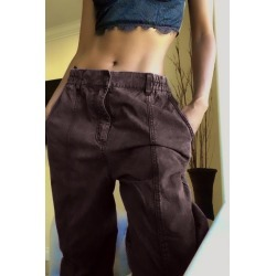 UO Lauren Tapered Pull-On Pant found on Bargain Bro India from Urban Outfitters (US) for $74.00