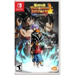 Nintendo Switch Super Dragon Ball Heroes: World Mission Video Game - Assorted at Urban Outfitters