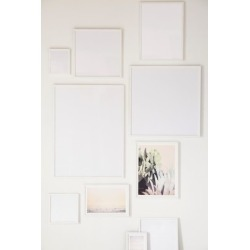 White Wood Art Print Frame found on Bargain Bro Philippines from Urban Outfitters (US) for $129.00