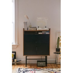 Howell Low Storage Unit - Black at Urban Outfitters