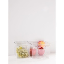 Plastic Storage Bin - Clear L at Urban Outfitters