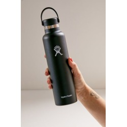 Hydro Flask Standard Mouth 24 oz Water Bottle - Black at Urban Outfitters