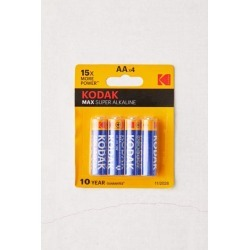 Kodak Max AA Battery - Set Of 4 - Yellow at Urban Outfitters