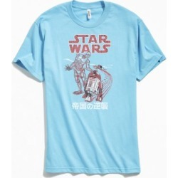 Star Wars Droids Tee - Blue S at Urban Outfitters