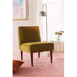 Montclair Velvet Chair - Green at Urban Outfitters