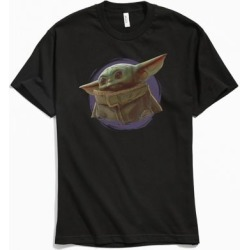 Star Wars Mandalorian Swirl Tee - Black S at Urban Outfitters