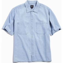 BDG Denim Short Sleeve Snap Button-Down Shirt found on Bargain Bro Philippines from Urban Outfitters (US) for $59.00