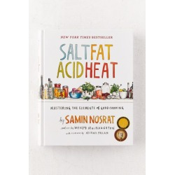 Salt, Fat, Acid, Heat: Mastering the Elements of Good Cooking By Samin Nosrat - Assorted at Urban Outfitters