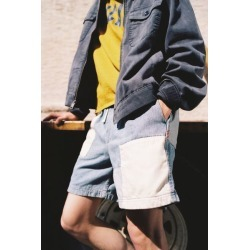 BDG Patchwork Denim Volley Short found on Bargain Bro India from Urban Outfitters (US) for $59.00