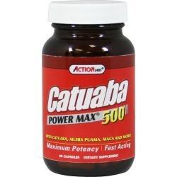 Action Labs Catuaba Power Max 500 mg-60 Capsules