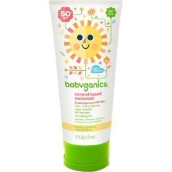 Baby Ganics Cover-Up Baby Face & Body Sunscreen-2 oz Lotion