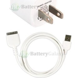 USB Home Wall AC Charger+Cable Cord for iPod Touch Nano iPhone 3 3G 3GS 4 4G 4S found on Bargain Bro India from Newegg Business for $10.39