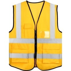 Reflective Mesh Design Security Vest for Jogging Traffic Safety Gold Tone found on Bargain Bro India from Newegg Canada for $16.80