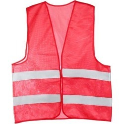 Reflective Mesh Design Security Vest for Jogging Traffic Safety Dark Red found on Bargain Bro India from Newegg Canada for $10.72
