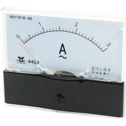 Analog Panel Ammeter AC 0 - 3A Measuring Range 1.5 Accuracy 44L1 found on Bargain Bro India from Newegg Business for $9.65
