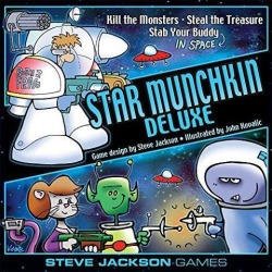 Star Munchkin Deluxe SW (MINT/New)