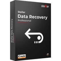 Stellar Data Recovery Software for Mac Professional Recover Deleted Data, Photos, Videos from Mac 1 Device, 1 Yr Subscription CD