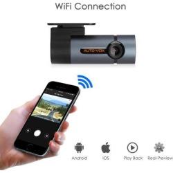 AUTO-VOX WiFi Dash Cam D6 Pro FHD 1080P Dashboard Camera Recorder Car Dash Cam with Super Night Vision,G-Sensor, WDR, Loop...