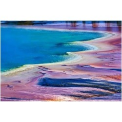 Posterazzi PDDUS51AJE0011 Pattern in Bacterial Mat Midway Geyser Basin Yellowstone National Park Wyoming Poster Print by Adam Jones found on Bargain Bro India from Newegg Canada for $56.95