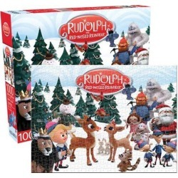 Aquarius Rudolph The Red Nosed Reindeer 1000 Piece Jigsaw Puzzle found on Bargain Bro India from Newegg Business for $31.21