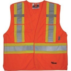 S/M Safety Vest, Orange VIKING 6135O-S/M found on Bargain Bro India from Newegg Canada for $12.59