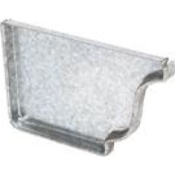 Amerimax Home Products 29205 Galvanized Gutter End Cap