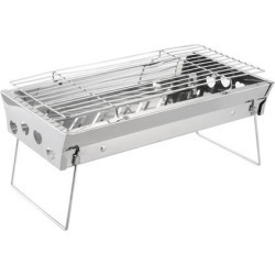 Barbecue Grill Portable Lightweight Simple Charcoal Grill Foldable BBQ Grill for Outdoor Cooking Camping Hiking Picnics found on Bargain Bro India from Newegg Canada for $28.69