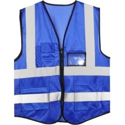 Reflective Mesh Design Security Vest for Jogging Traffic Safety Dark Blue found on Bargain Bro India from Newegg Canada for $16.64