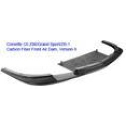 APR Performance Carbon Fiber Front Version II Airdam with Bumper Reinforcement Support FA-208426