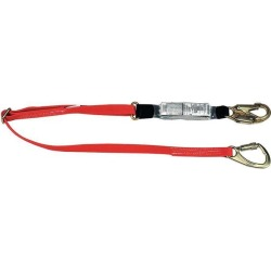 6 ft.L 310 lb. Weight Capacity Red Shock Absorbing Lanyard MSA 10047084 found on Bargain Bro India from Newegg Canada for $101.82
