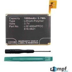 Replacement 616-0619, 616-0621 Battery for Apple iPod Touch 5 (5th Generation) A1421, A1509, 16GB, 32GB, 64GB with Installation Tools found on Bargain Bro India from Newegg Business for $10.95