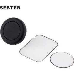 360 Degree Universal Car Holder Magnetic Air Vent Mount Smartphone Dock Mobile Phone Holder Cell Phone Holder Stands black
