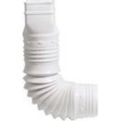 Amerimax Home Products ADP53129 3 x 4 in. White Down Spout Adaptor