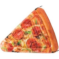 Intex Giant Inflatable Pizza Slice Float Mat For Lake, Beach, or Swimming...