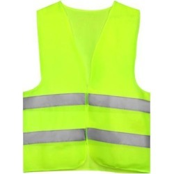 Reflective Mesh Design Security Vest for Jogging Traffic Safety Yellow Green found on Bargain Bro India from Newegg Canada for $10.83