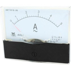 Unique Bargains Analog Panel Ammeter AC 0 - 5A Measuring Range 1.5 Accuracy 44L1 found on Bargain Bro India from Newegg Business for $9.72