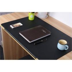 LOHOME Desk Pads Artificial Leather Laptop Mat with Fixation Lip, Perfect Des.