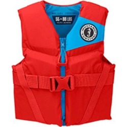 Mustang Survival Mustang Survival Rev Youth Foam Vest Imperial Red 50-90 LBS