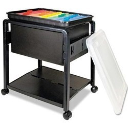 Advantus Folding Mobile File Cart - AVT55758