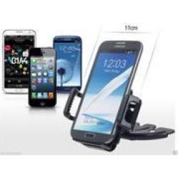 Universal Car CD Slot Mount Dash Bracket Holder for Samsung Galaxy S4 S5 S6 Edge