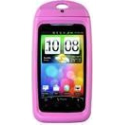 Aryca Whirl Waterproof Case for Larger Basic Phones, Pink (WS6P)