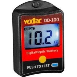 Digital Depth and Battery Gauge