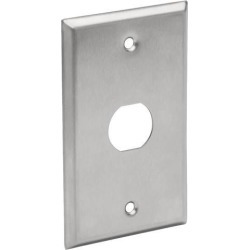Tripp Lite RJ45 Bulkhead Wall Plate 1 Cutout Industrial Metal Single Gang (N206-FP01-IND) found on Bargain Bro India from Newegg for $10.99