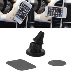 Auto Car Holder Mini Air Vent Outlet Mount Magnet Magnetic Phone Mobile Holder Universal For iphone for Samsung Car Holder