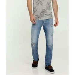 Calça Masculina Jeans Destroyed Skinny MR found on Bargain Bro India from marisa.com.br for $44.10